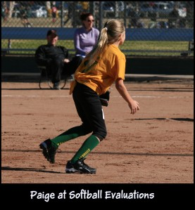 Paige Softball