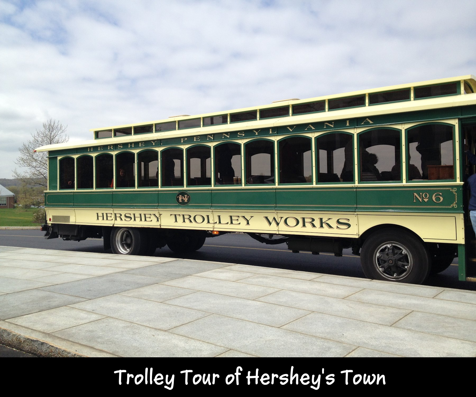 A guided tour loaded with fun, frolic and of course chocolate! The Hershey trolley works operates guided tours through the town taking you to all the major attractions/5(5).