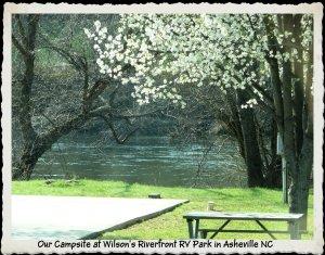P1150212 Wilsons Riverfront Campsite, Asheville, NC