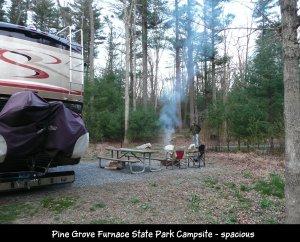 P1150300 Pine Grove Furnace campsite
