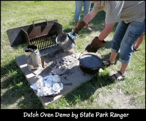 Dutch oven demo