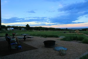 Cheyenne Mountain State Park Campsite