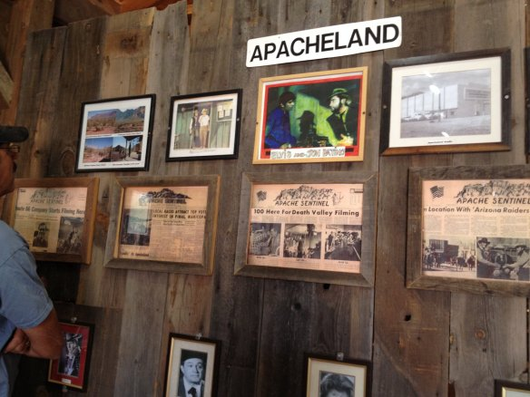 Hundreds of old western movies were made at Apacheland