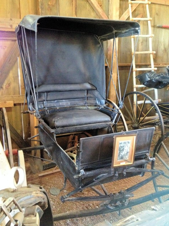 The buggy used by Doc in Gunsmoke