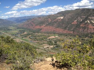 Hiked to the top of Animas Mountain Trail