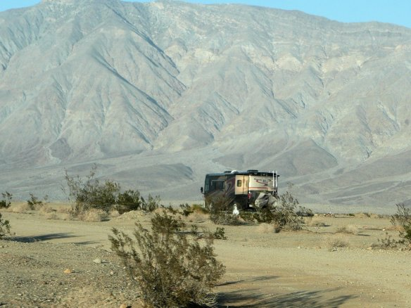 All By Ourselves near Borrego Springs, CA