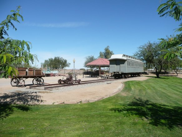 Wooden Railcar at the Quartermasters Depot