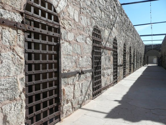 Yuma Territorial Prison from 1876