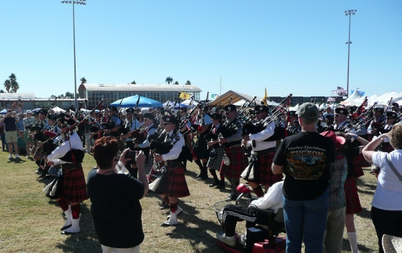 Irish Festival and Highland Games Opening Ceremony