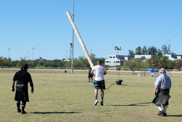 Scottish Highland Games - Caber Toss