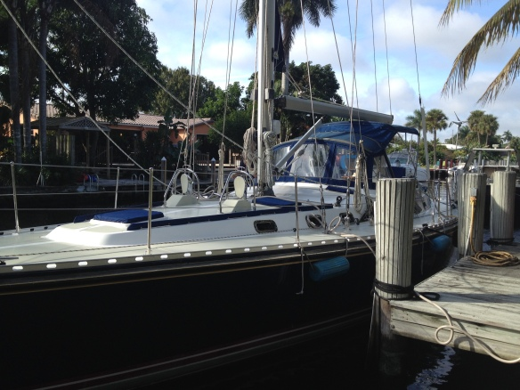 s/v Aquila in Ft. Lauderdale