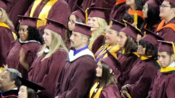 Sean at ASU Commencement Ceremony