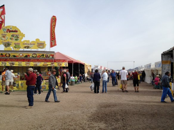 ...Or shopping at the hundreds of booths at the RV Rally