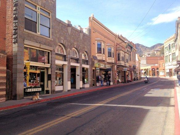 Original buildings in the Bisbee historic district