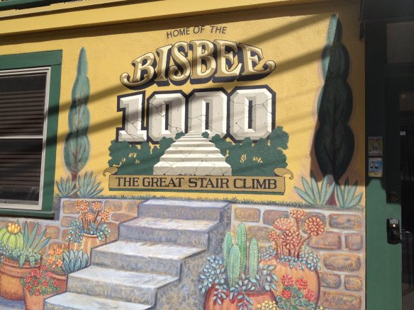 We found LOTS of stairs throughout Bisbee