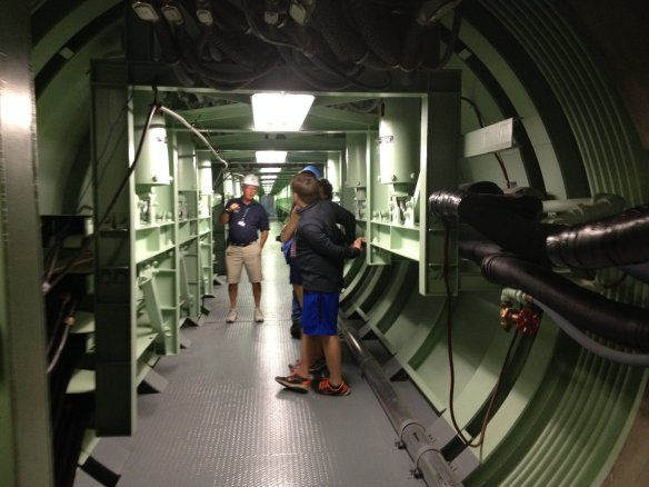Down in the missile silo