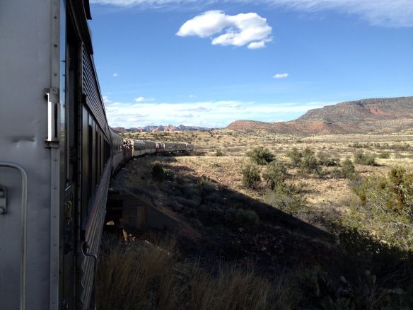 Verde Canyon Railroad Wilderness Train