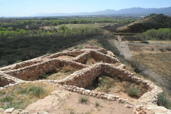 A portion of the Tuzigoot National Monument