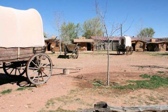 Early Mormon Settlement of Fort Bluff