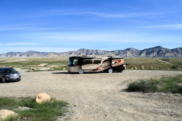 Free campsite on BLM land in Grand Junction