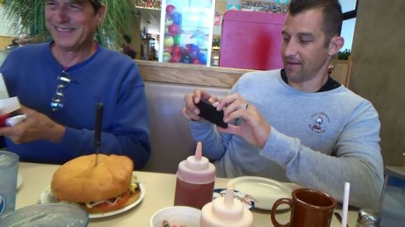 The One-Pound Hamburger at Big Jud's Diner