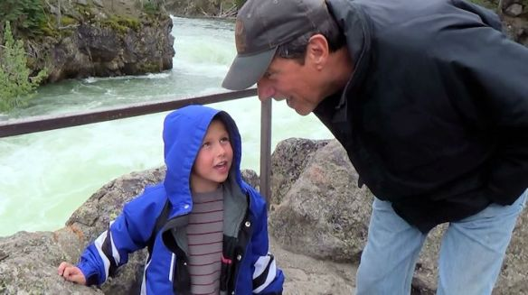 YNP2-Canyons - Brady talks to Papa