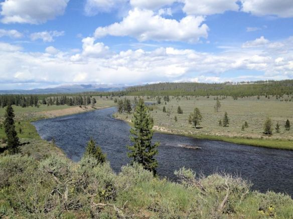 Hiking the Riverside Trail in West Yellowstone
