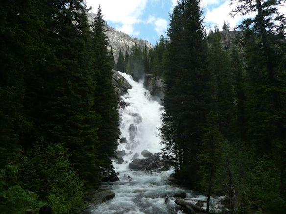 Hike to Waterfall at Jenny Lake
