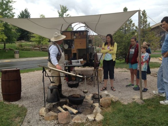 Chuck Wagon Cooking Demo
