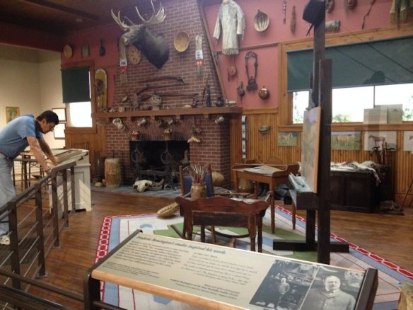 Frederic Remington's Studio in the Western Art Museum