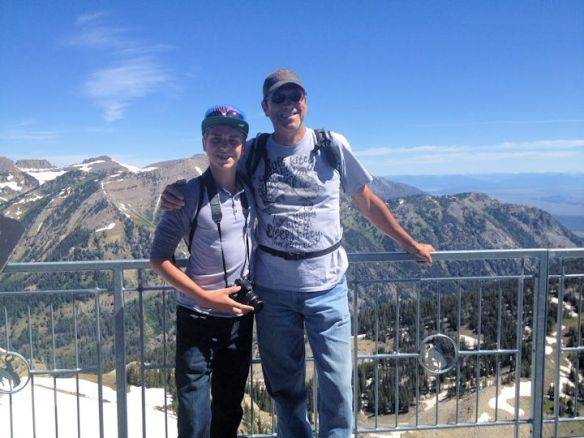 Garrett and Mike Enjoying The Altitude