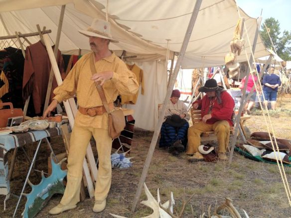 Mountain Man Rendezvous in West Yellowstone