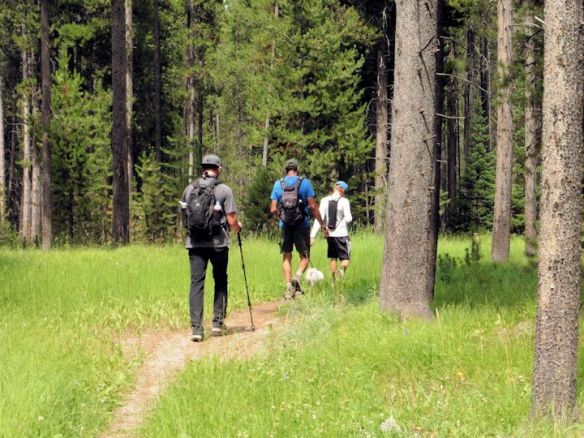 West Yellowstone Rendezvous Ski Trail Hike