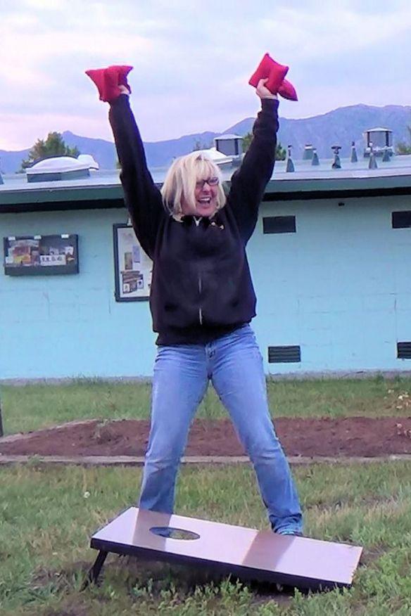 Kimberly Scores!