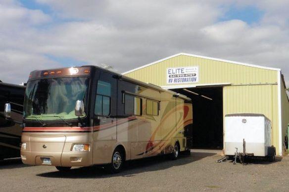 Elite RV Repair and Remodel in Harrisburg, Oregon
