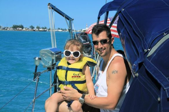 Sean and Kailyn in Key West
