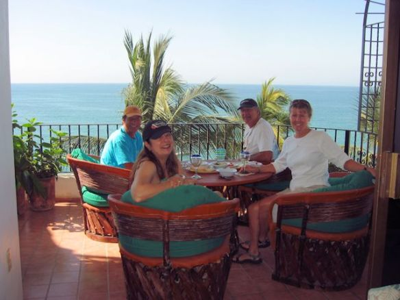Janet and Allen Adden at Puerto Vallarta home