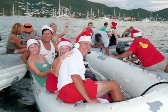 Christmas in St. Martin with Larry and Mary Ivins, s/v Berkeley East