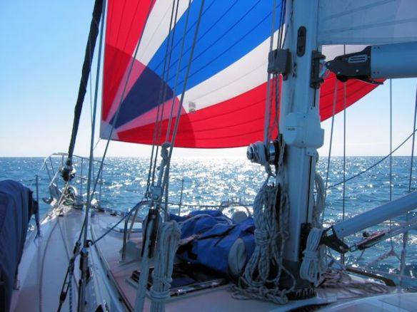5 Sailing - Spinnaker