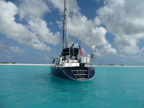 Caribbean Sea - Anchored at Barbuda
