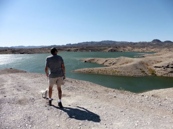 Water levels are low at Lake Mead, too!
