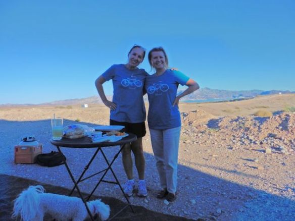 Ingrid and I bought the same tee shirts when we were in Moab Utah last year!