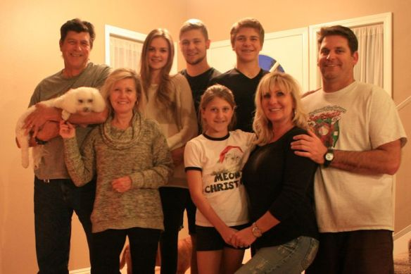The Family With Blake's girlfriend Holly