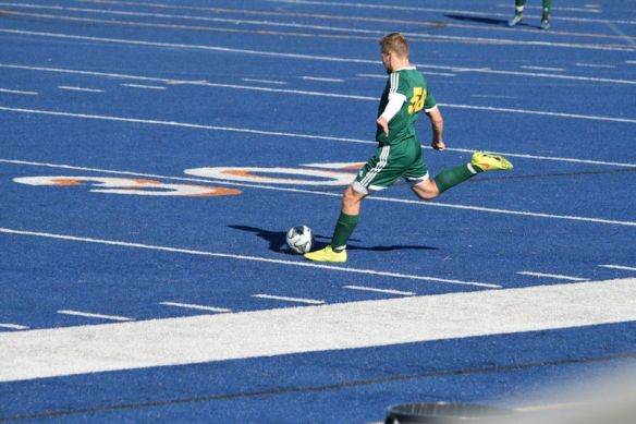 Blake plays Varsity Soccer at Moorpark High School