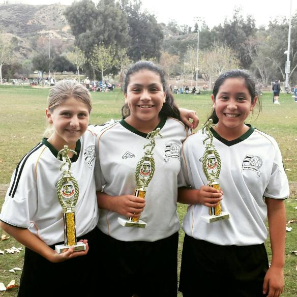 Posing With Her Soccer Besties After Winning a Tournament