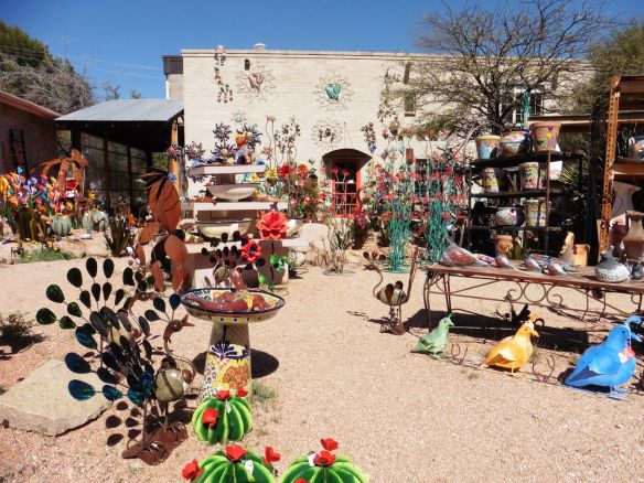 Walking Around the Artistic Little Town of Tubac