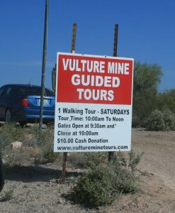 08 Vulture Mine Tour sign