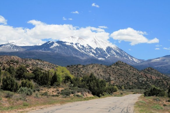 Driving the 70-mile La Sal Mountain Loop