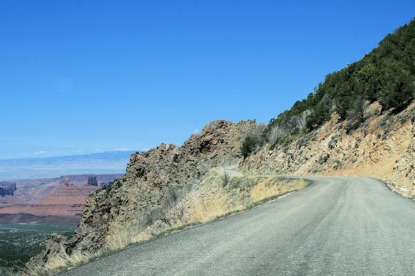 Driving the La Sal Mountain Loop