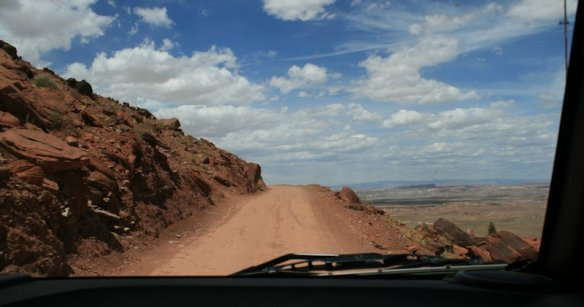 Gemini Bridges Road Out Of Canyonlands